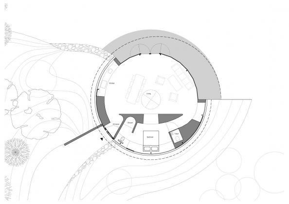 Вилла с обзором на 360° от студии 123DV 16
