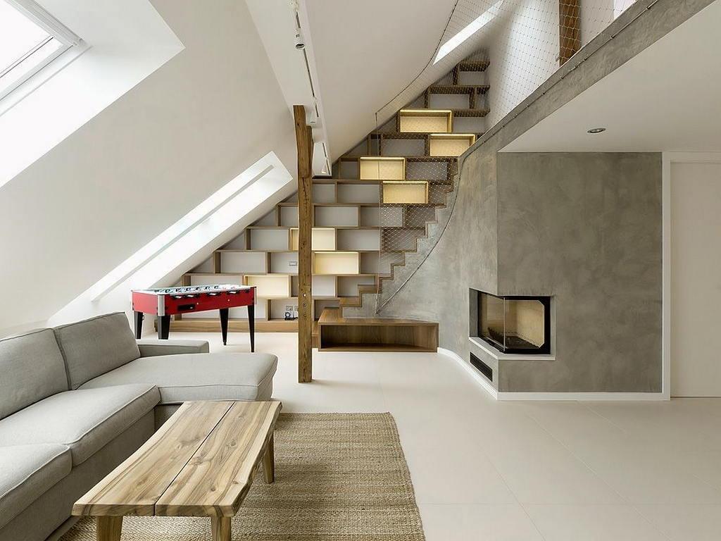 Квартира в стиле лофт в Праге 61