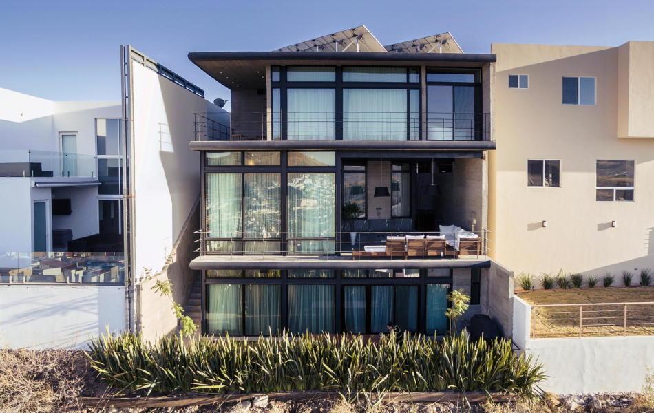 Вилла Cima House в Мексике от студии Garza Iga Arquitectos 1