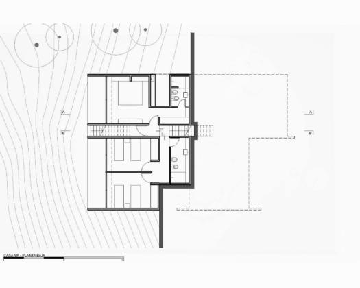 Дом в дюнах Аргентины от ателье Luciano Kruk 15
