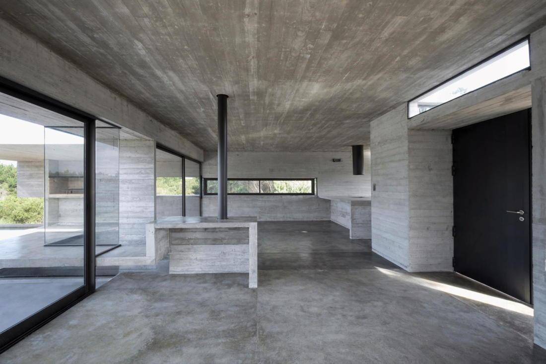 Дом в дюнах Аргентины от ателье Luciano Kruk 3