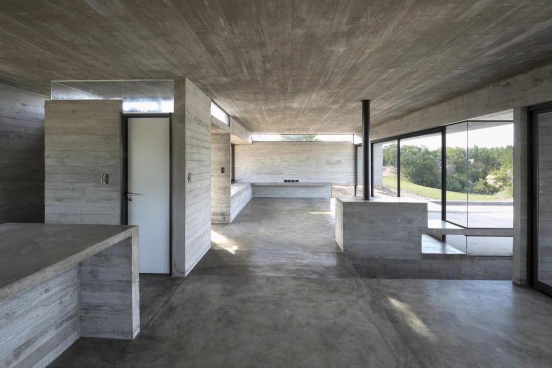 Дом в дюнах Аргентины от ателье Luciano Kruk 4