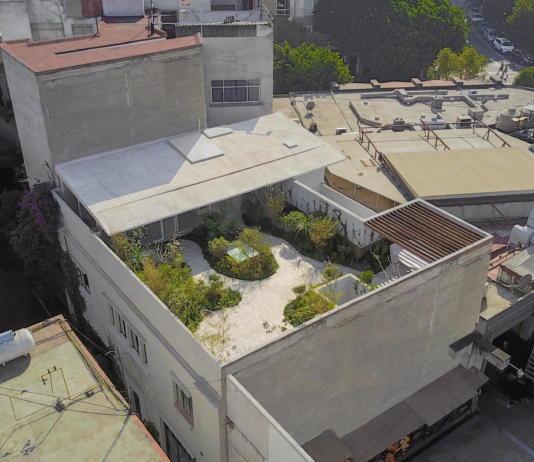 Дом в самом центре Мехико от студии Zeller & Moye 12