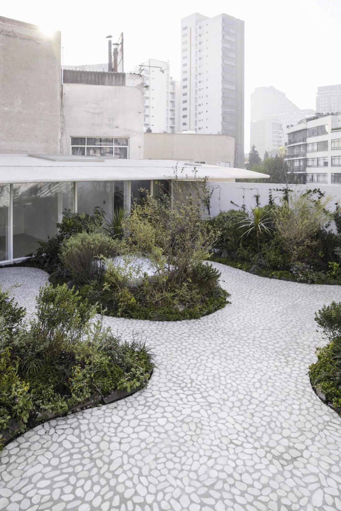 Дом в самом центре Мехико от студии Zeller & Moye 7