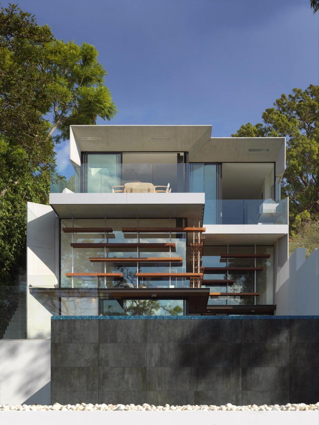 Просторный дом в Австралии от студии Rolf Ockert Design 13