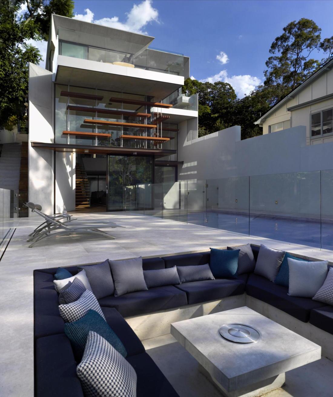 Просторный дом в Австралии от студии Rolf Ockert Design 18