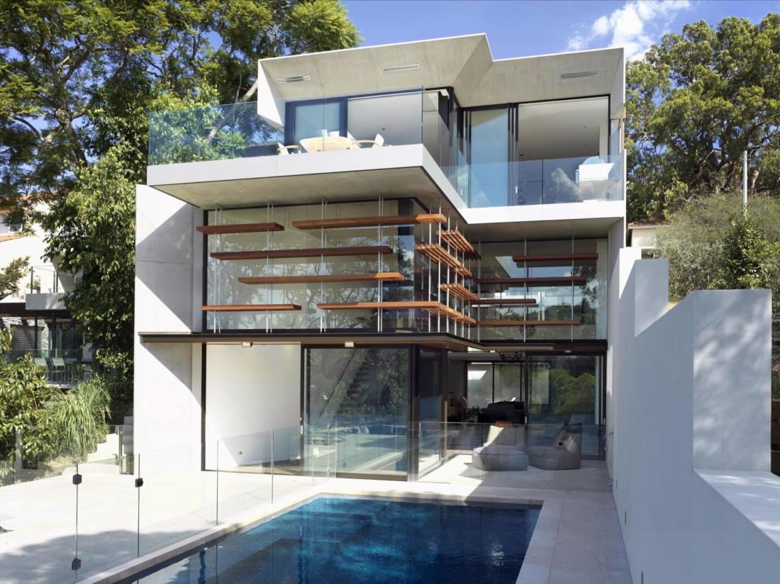 Просторный дом в Австралии от студии Rolf Ockert Design 25