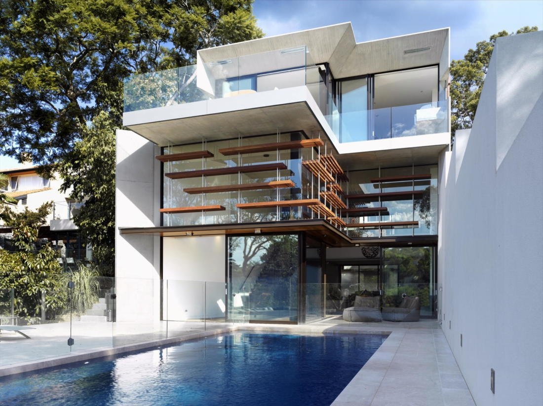 Просторный дом в Австралии от студии Rolf Ockert Design 3