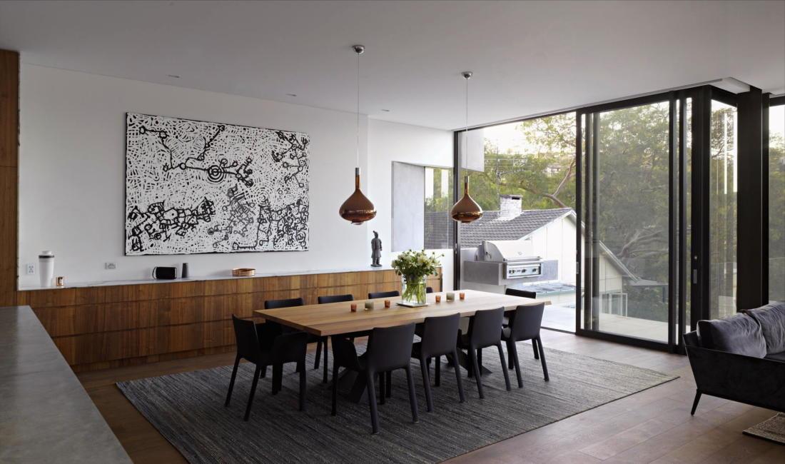 Просторный дом в Австралии от студии Rolf Ockert Design 7