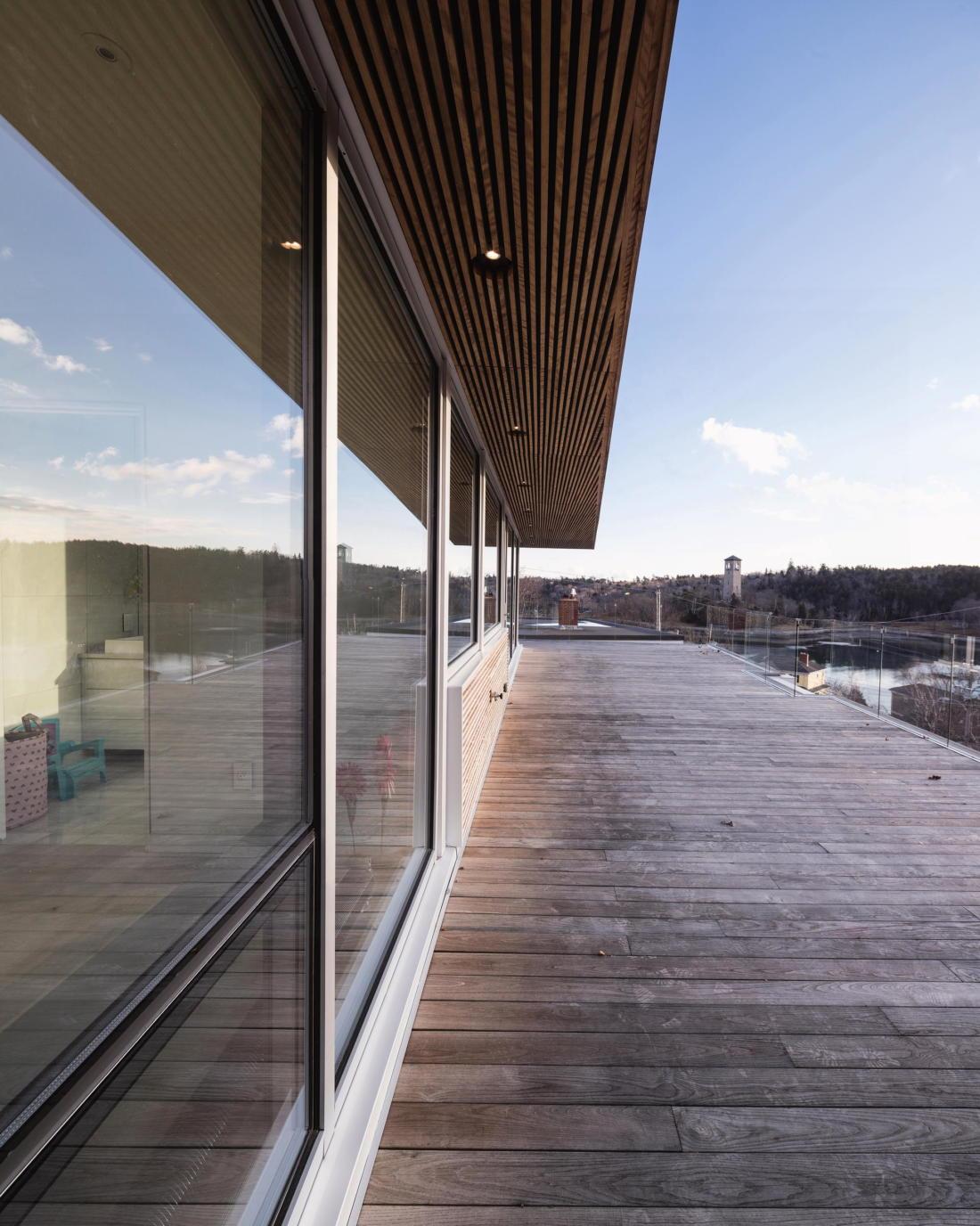 Вилла Webster Terrace – открытое пространство от студии TEAL 14