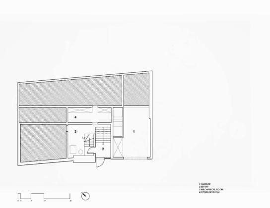Вилла Webster Terrace – открытое пространство от студии TEAL 16