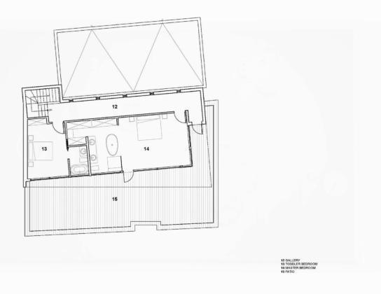 Вилла Webster Terrace – открытое пространство от студии TEAL 18