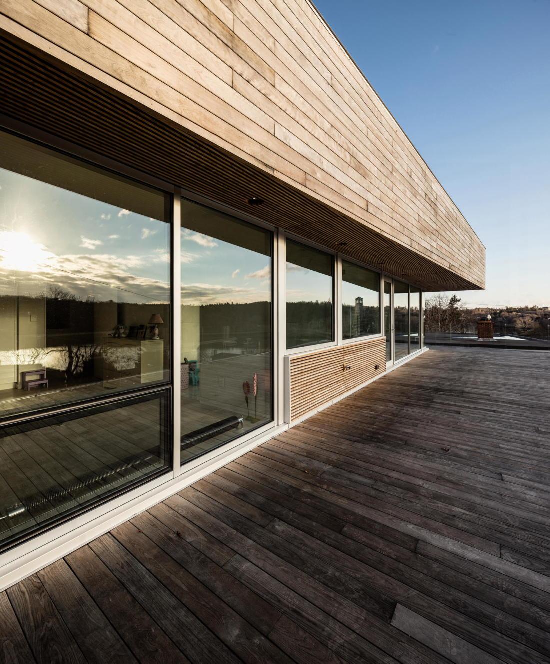 Вилла Webster Terrace – открытое пространство от студии TEAL 7