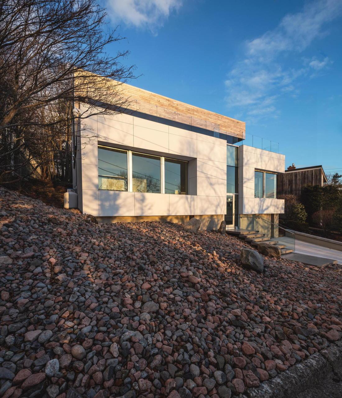 Вилла Webster Terrace – открытое пространство от студии TEAL 9