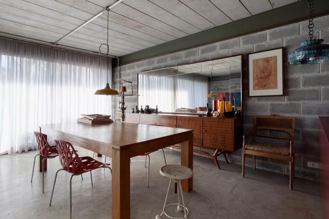 Богемный интерьер дома в Бразилии от ARKITITO Arquitetura 10