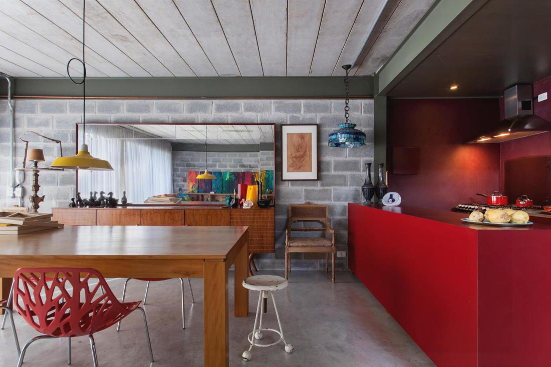 Богемный интерьер дома в Бразилии от ARKITITO Arquitetura 4