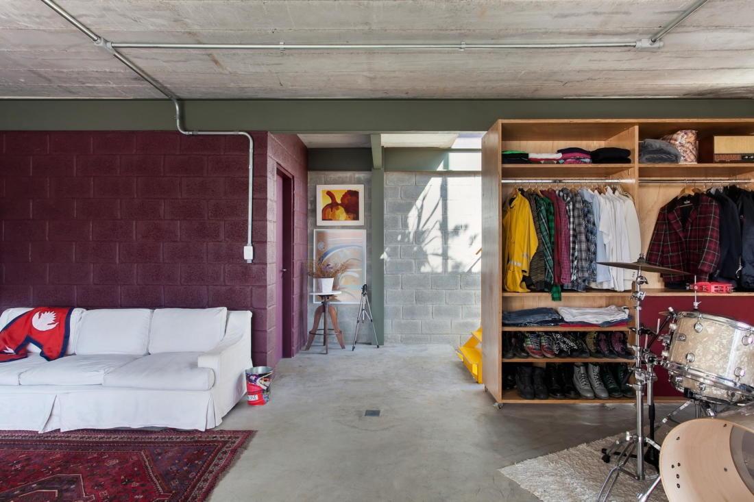 Богемный интерьер дома в Бразилии от ARKITITO Arquitetura 6