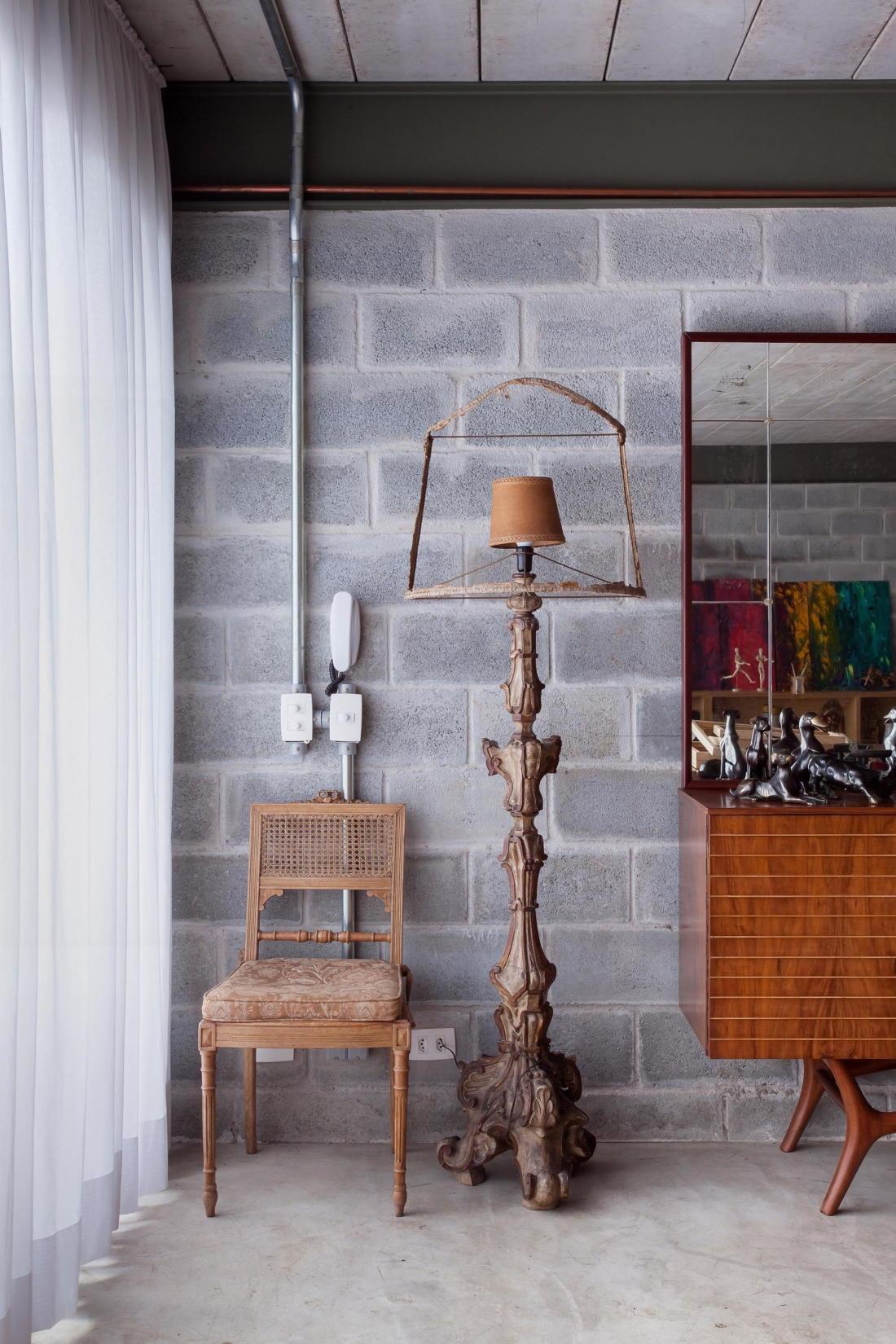 Богемный интерьер дома в Бразилии от ARKITITO Arquitetura 7