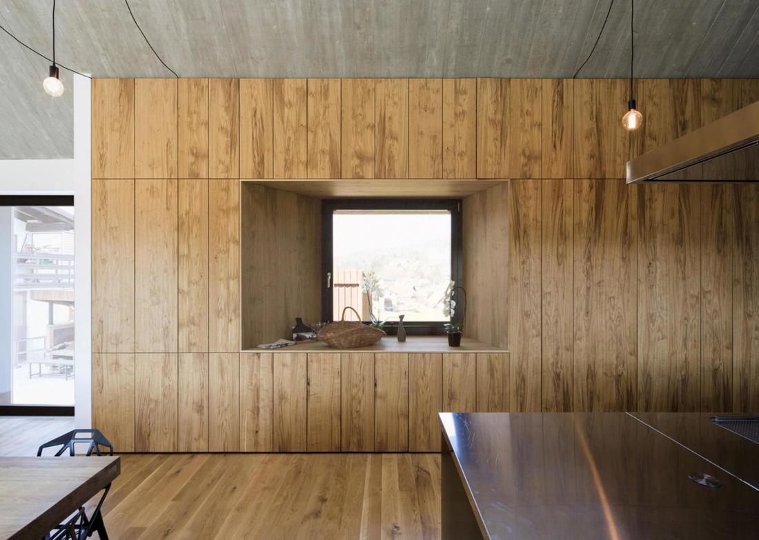 Дом-дымоход в Словении от студии Dekleva Gregoric 12