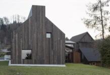 Дом-дымоход в Словении от студии Dekleva Gregoric 7