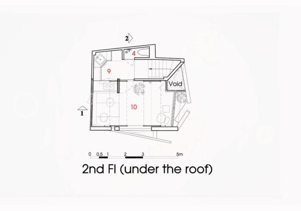 Дом из бумаги от ателье NatureArch Studio 22
