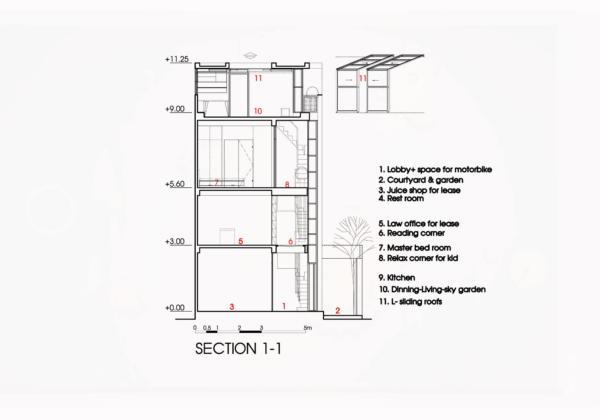 Дом из бумаги от ателье NatureArch Studio 25