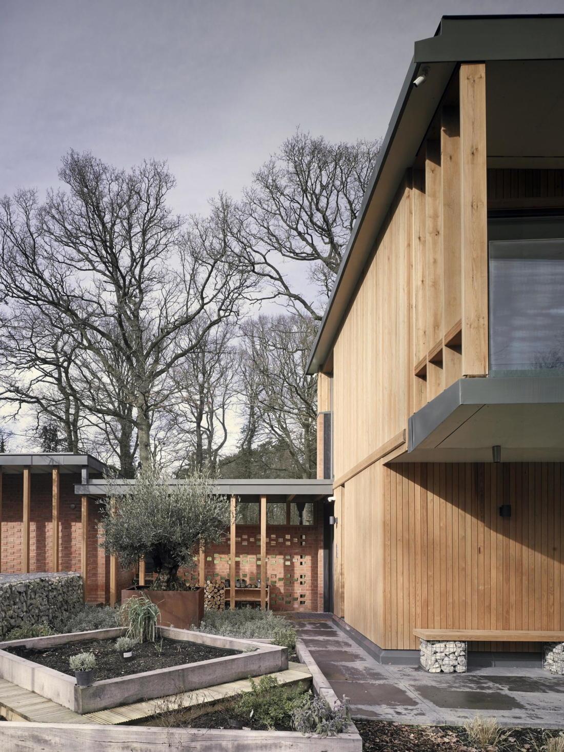 Кирпичный дом в США по проекту студии Ника Уиллсона 1