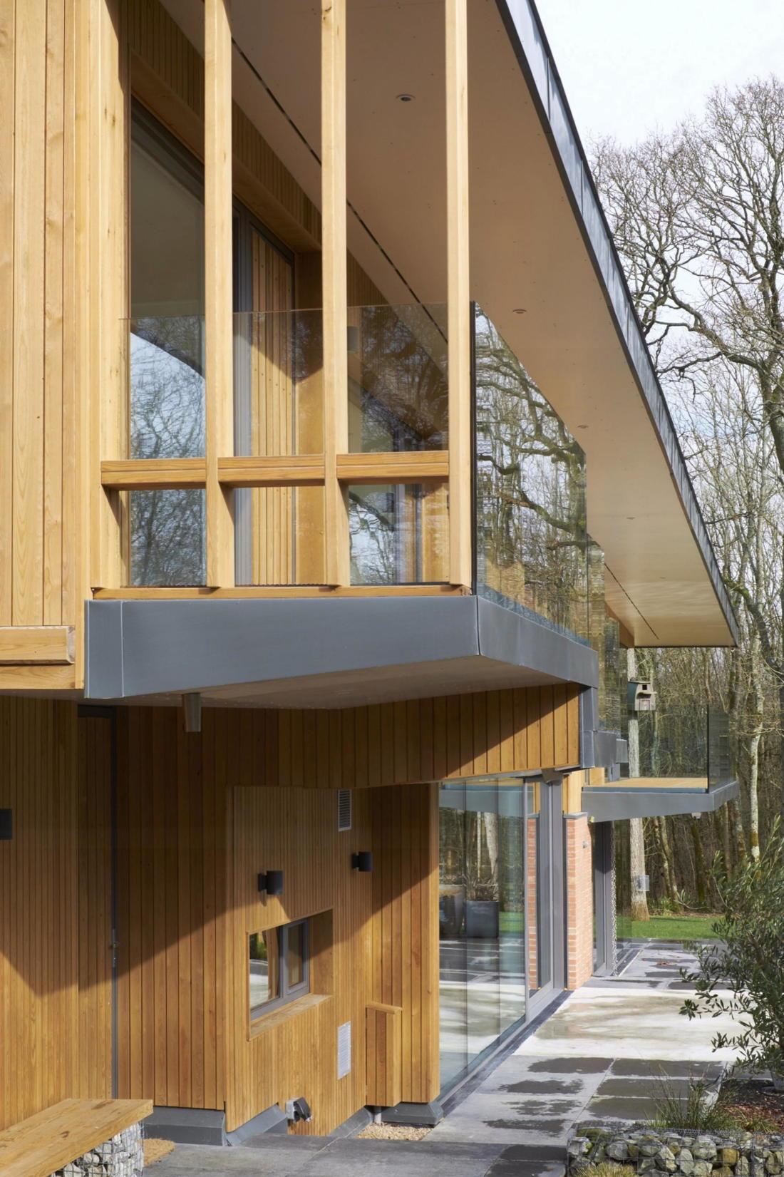 Кирпичный дом в США по проекту студии Ника Уиллсона 10