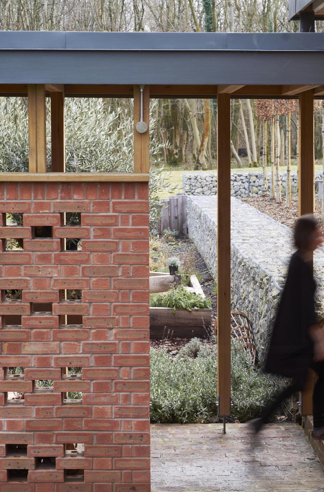 Кирпичный дом в США по проекту студии Ника Уиллсона 12