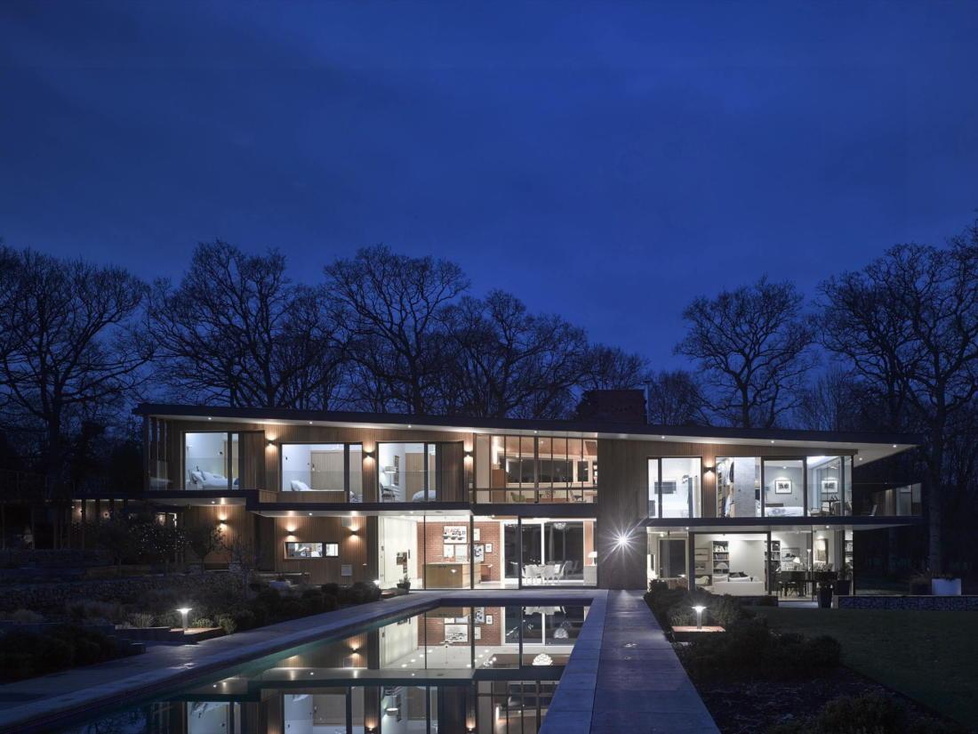 Кирпичный дом в США по проекту студии Ника Уиллсона 13