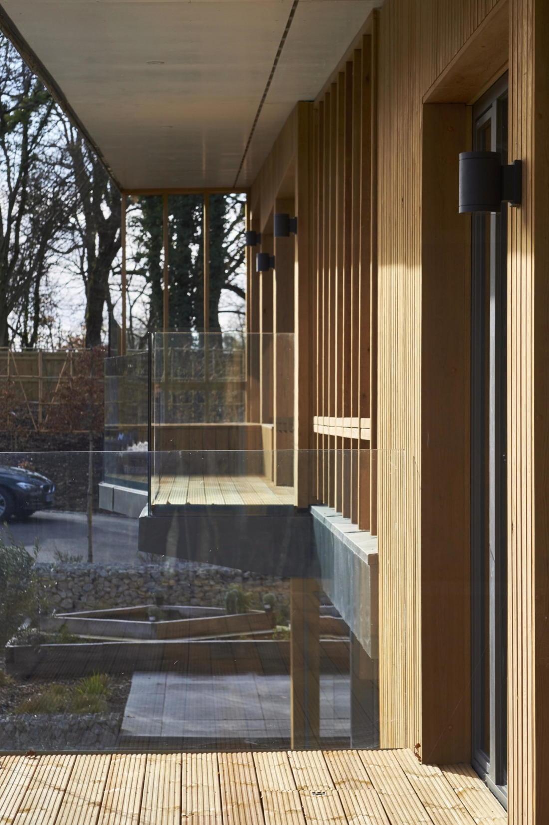 Кирпичный дом в США по проекту студии Ника Уиллсона 16