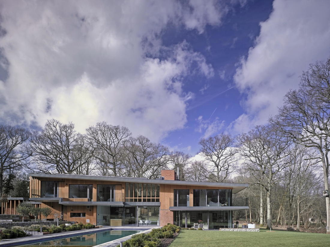 Кирпичный дом в США по проекту студии Ника Уиллсона 2