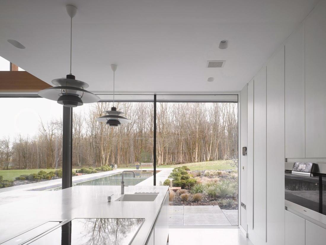 Кирпичный дом в США по проекту студии Ника Уиллсона 20