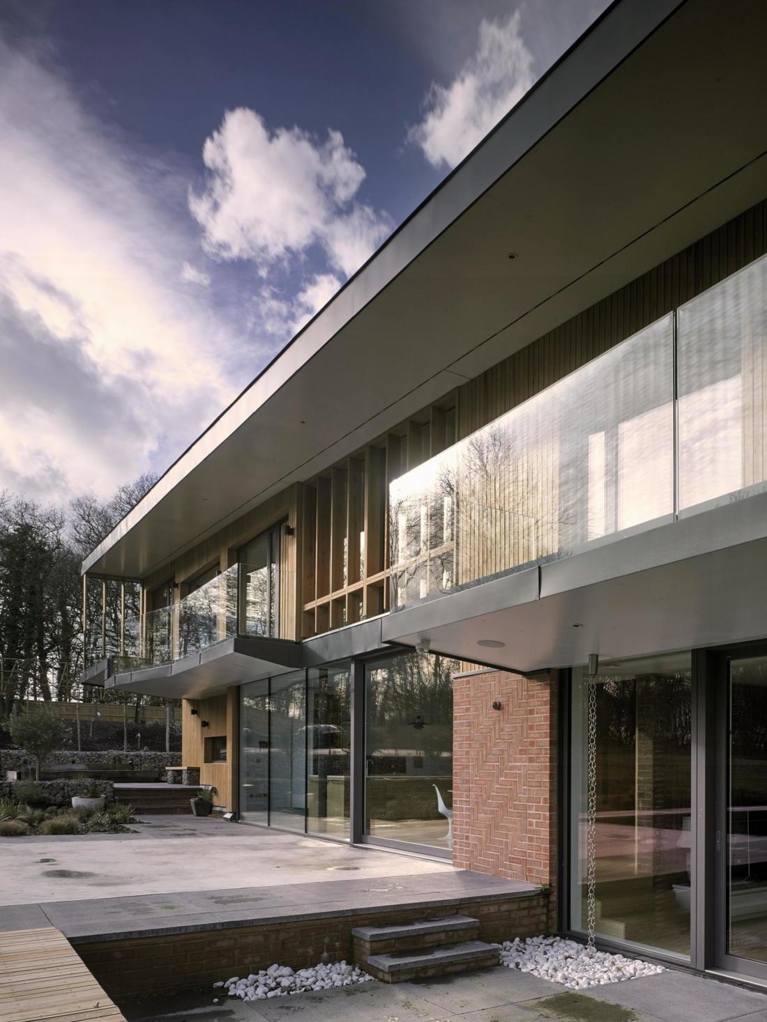 Кирпичный дом в США по проекту студии Ника Уиллсона 21