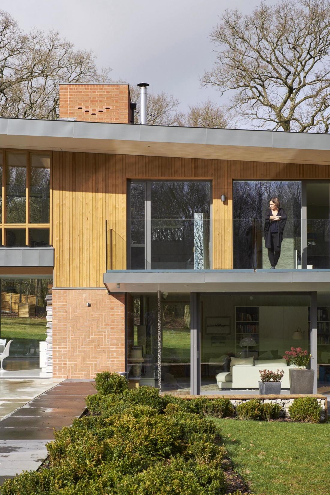 Кирпичный дом в США по проекту студии Ника Уиллсона 22