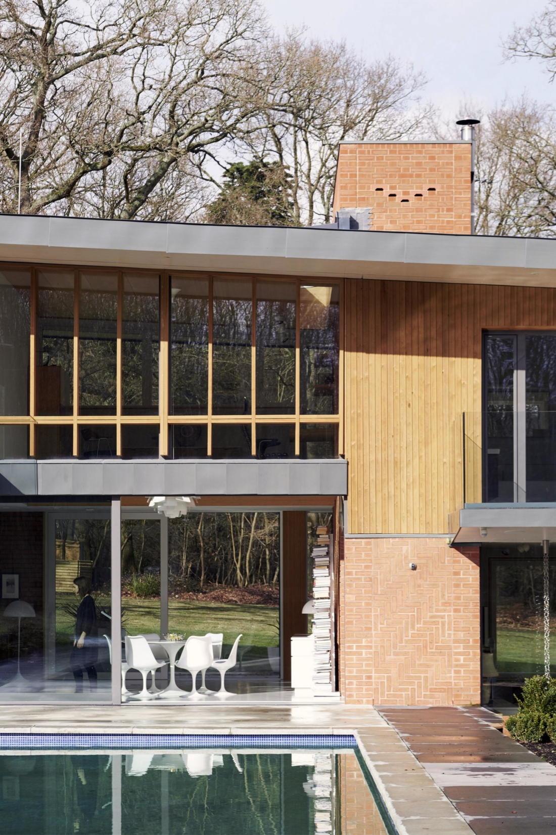 Кирпичный дом в США по проекту студии Ника Уиллсона 24