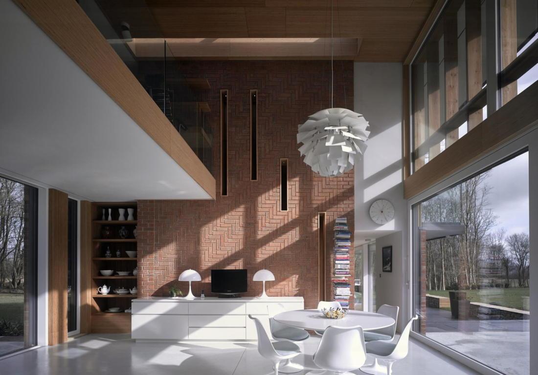 Кирпичный дом в США по проекту студии Ника Уиллсона 25