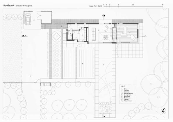 Кирпичный дом в США по проекту студии Ника Уиллсона 27
