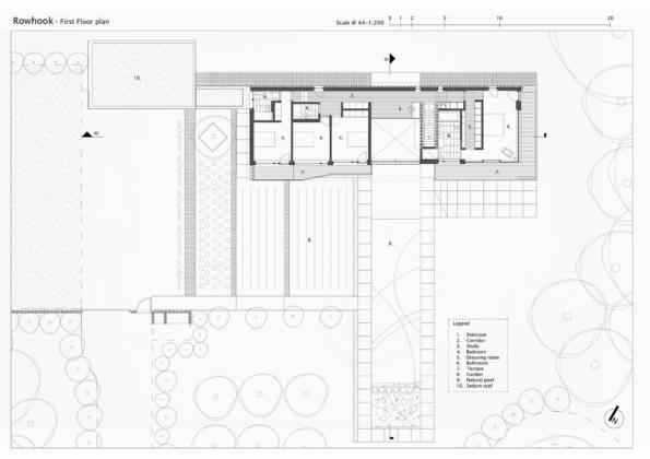 Кирпичный дом в США по проекту студии Ника Уиллсона 28