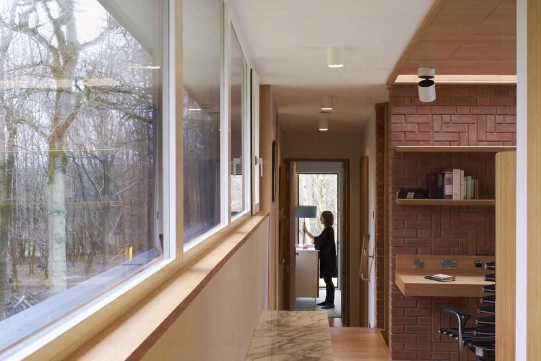 Кирпичный дом в США по проекту студии Ника Уиллсона 3