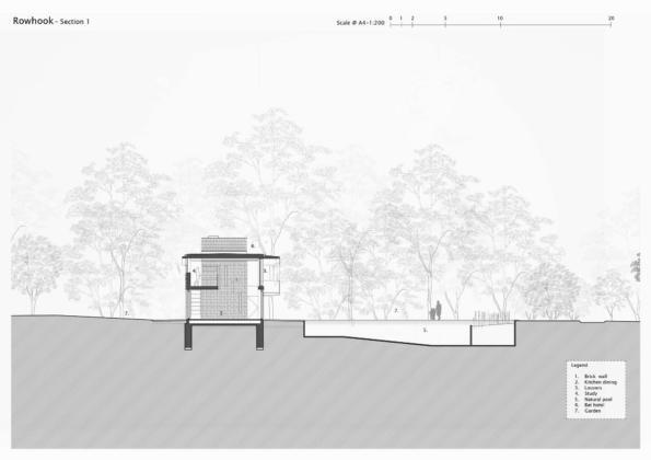 Кирпичный дом в США по проекту студии Ника Уиллсона 30