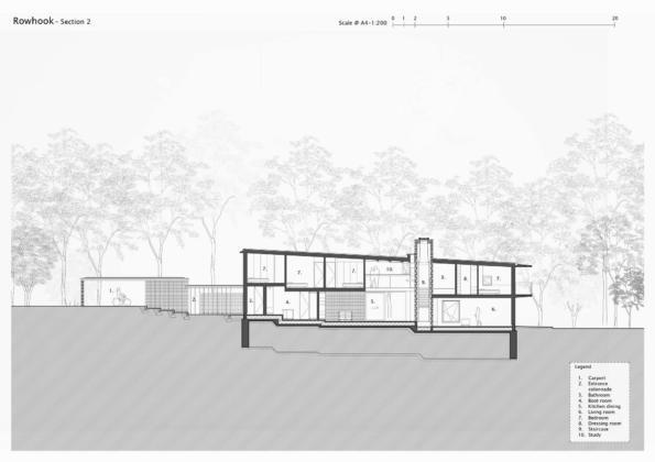 Кирпичный дом в США по проекту студии Ника Уиллсона 31