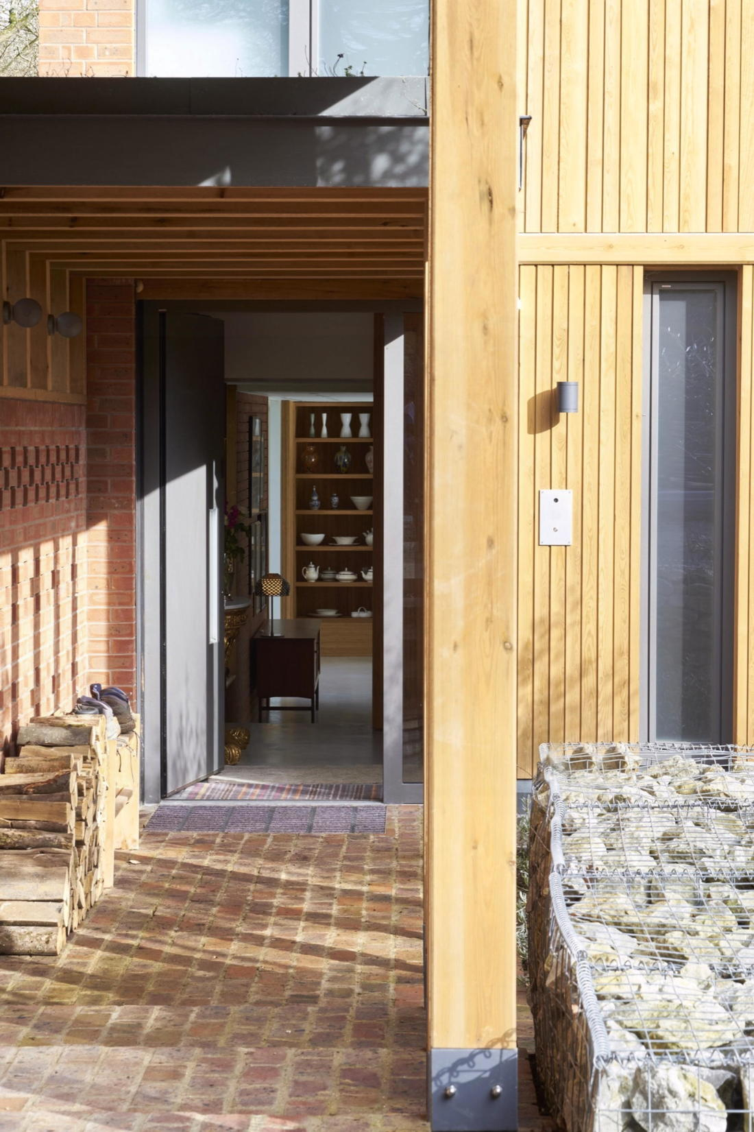Кирпичный дом в США по проекту студии Ника Уиллсона 4