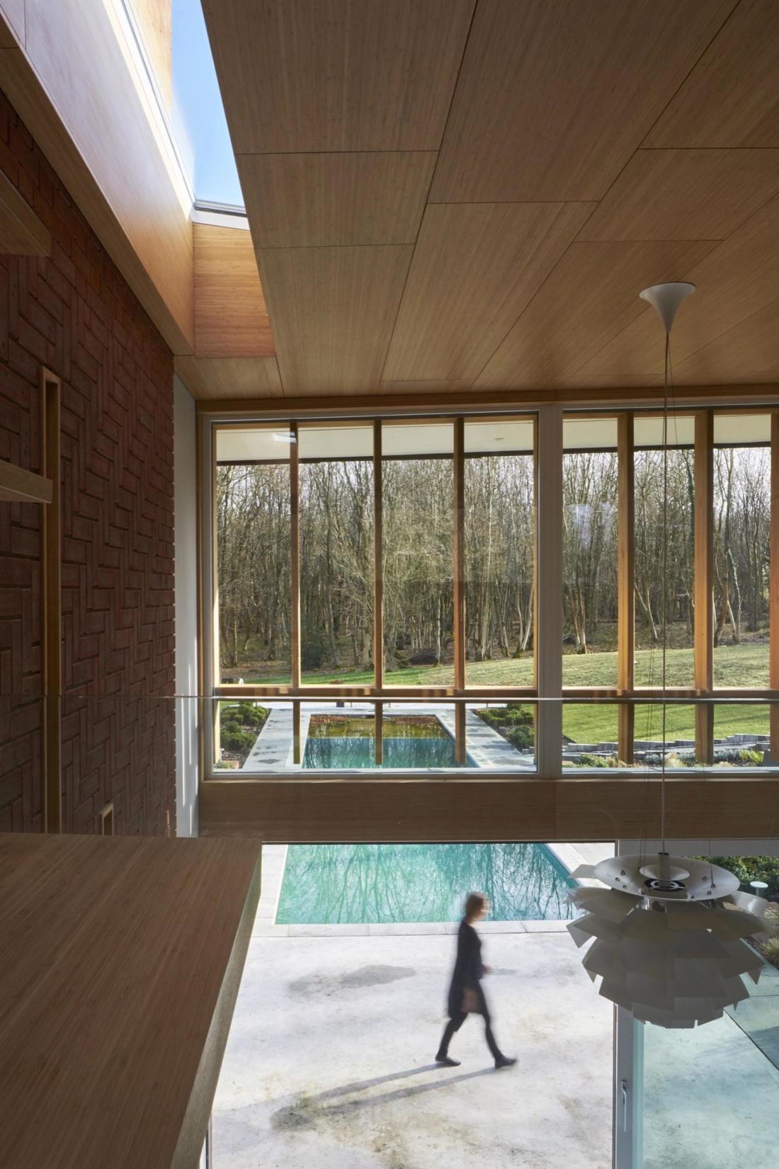 Кирпичный дом в США по проекту студии Ника Уиллсона 5