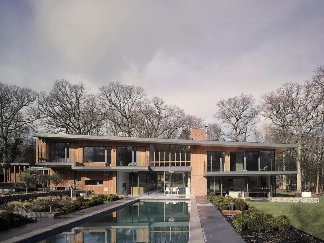 Кирпичный дом в США по проекту студии Ника Уиллсона 7