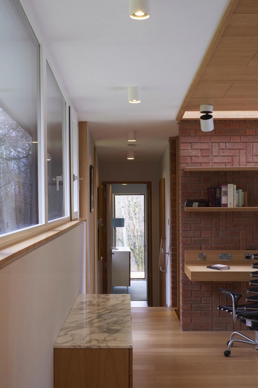 Кирпичный дом в США по проекту студии Ника Уиллсона 9
