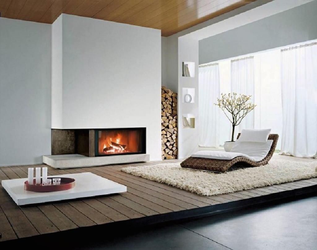 Тепло и уют — камин в интерьере квартиры и дома 1
