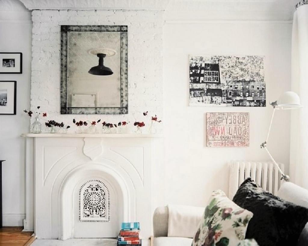 Тепло и уют — камин в интерьере квартиры и дома 100