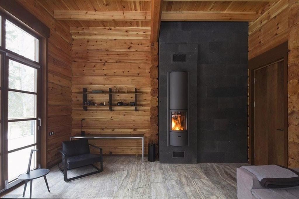 Тепло и уют — камин в интерьере квартиры и дома 107