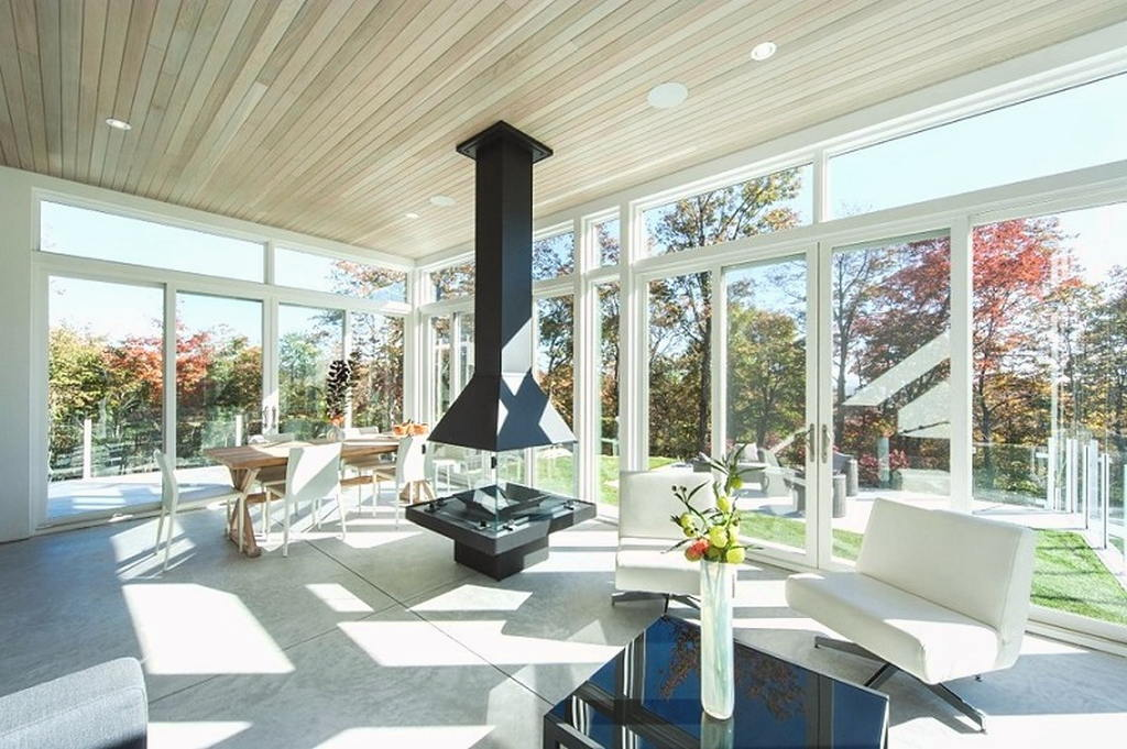 Тепло и уют — камин в интерьере квартиры и дома 108
